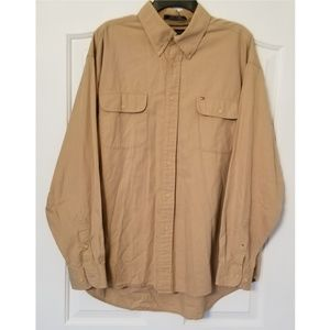 Tommy Hilfiger Men's XL Long Sleeve Button-Down